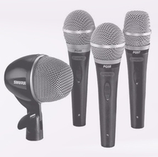 Stage lighting and sound with microphone and speaker rental from AV Rentals NYC.